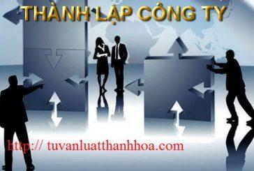 Thay đổi vốn điều lệ cho doanh nghiệp tại Thanh Hóa