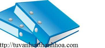 Hồ sơ thành lập công ty hợp danh tại Thanh Hóa