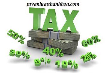 Tư vấn thuế ưu đãi đầu tư đối với dự án đầu tư nước ngoài tại Thanh Hóa