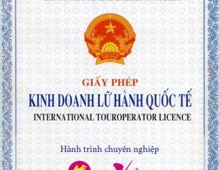 Dịch vụ xin giấy phép lữ hành nội địa tại Thanh Hóa