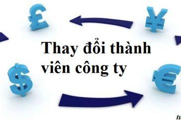 Tư vấn thay đổi thành viên công ty TNHH tại Thanh Hóa
