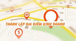 Thành lập địa điểm kinh doanh tại Thanh Hóa